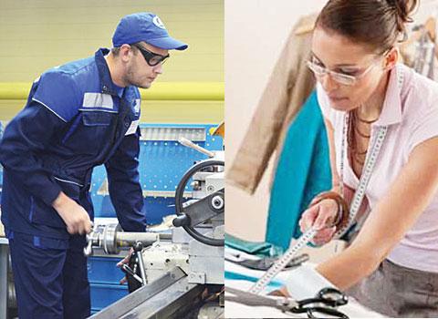 Профессии, связанные с трудовым обучением