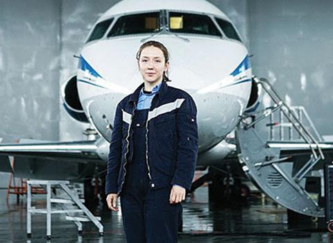авиатехник «Белавиа» Ольга Венская
