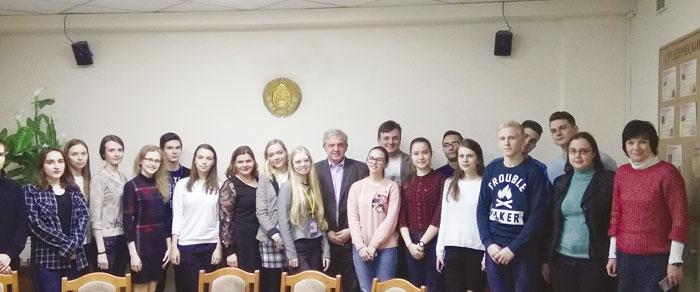 Студенты и преподаватели химического факультета БГУ
