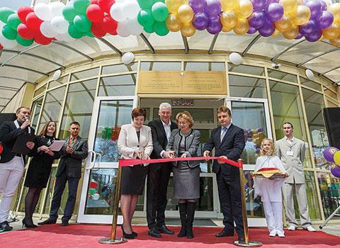 Открытие нового здания центра