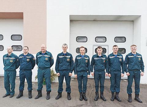 ПАСЧ‑16 Первомайского районного отдела по чрезвычайным ситуациям г.Минска