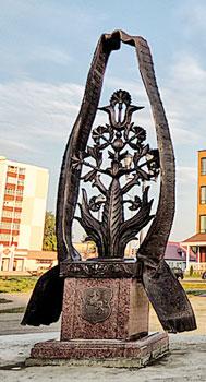 Памятник - Слуцкие пояса